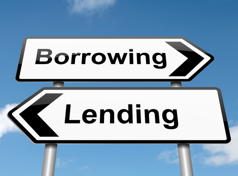 What is the difference between 'lend' and 'borrow'?