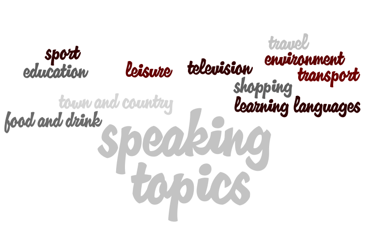 IELTS speaking topics for part 3