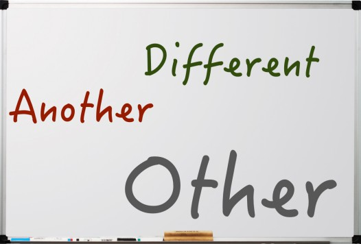 The difference between 'another', 'other' and 'different'