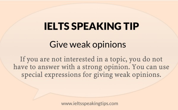 weak-opinions